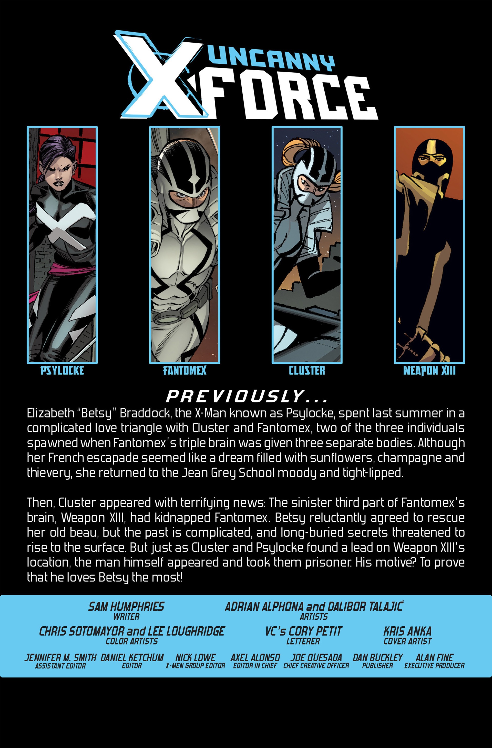 Read online Uncanny X-Force (2013) comic -  Issue #8 - 2