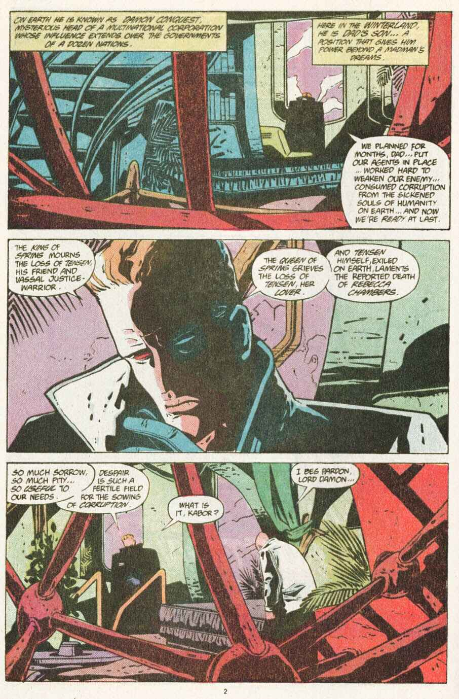 Read online Justice (1986) comic -  Issue #10 - 3