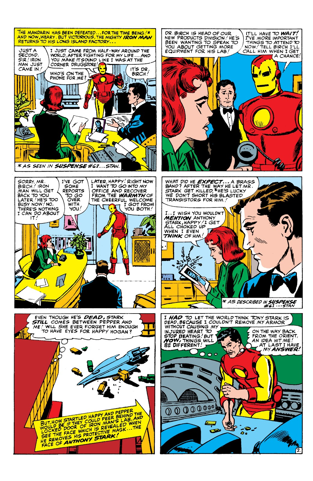 Read online Marvel Masterworks: The Invincible Iron Man comic -  Issue # TPB 2 (Part 3) - 2