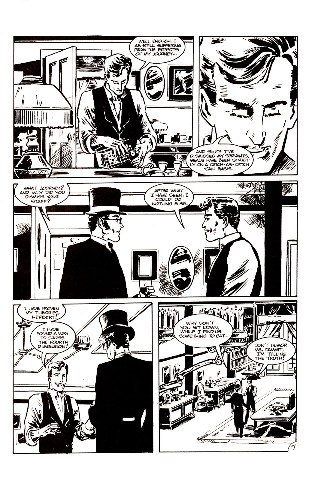 The Time Machine issue 1 - Page 9