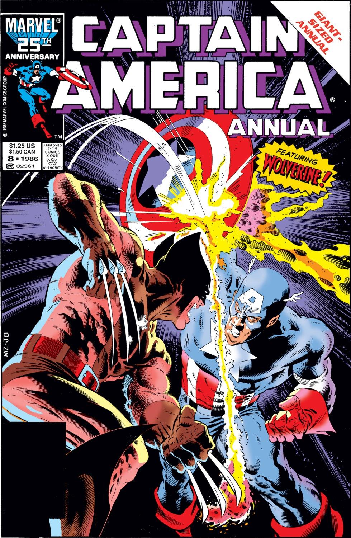 Read online Captain America (1968) comic -  Issue # _Annual 8 - 1