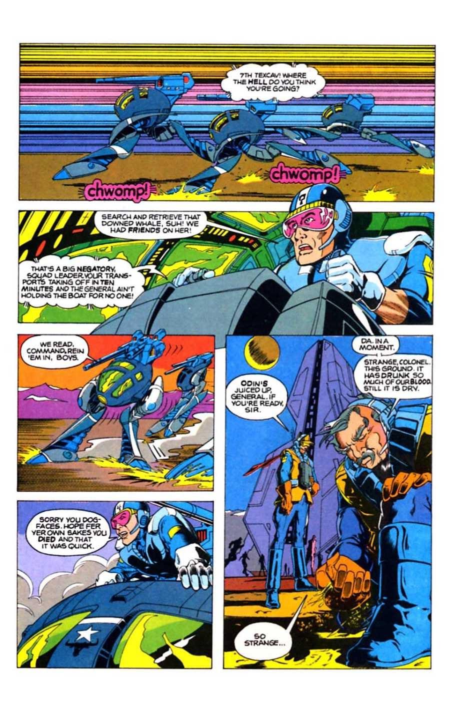 Read online Mars comic -  Issue #10 - 26