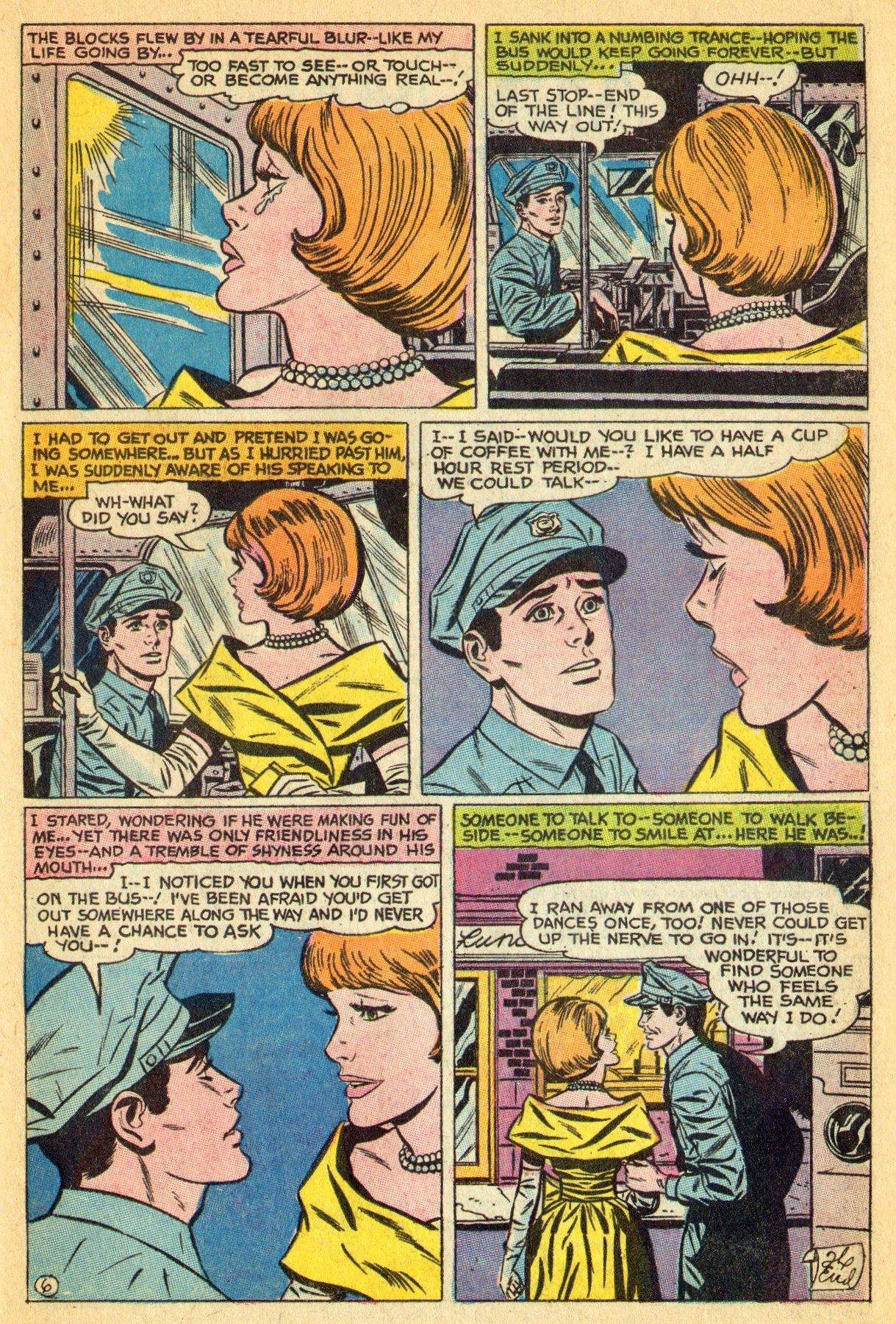 Read online Secret Hearts comic -  Issue #134 - 19