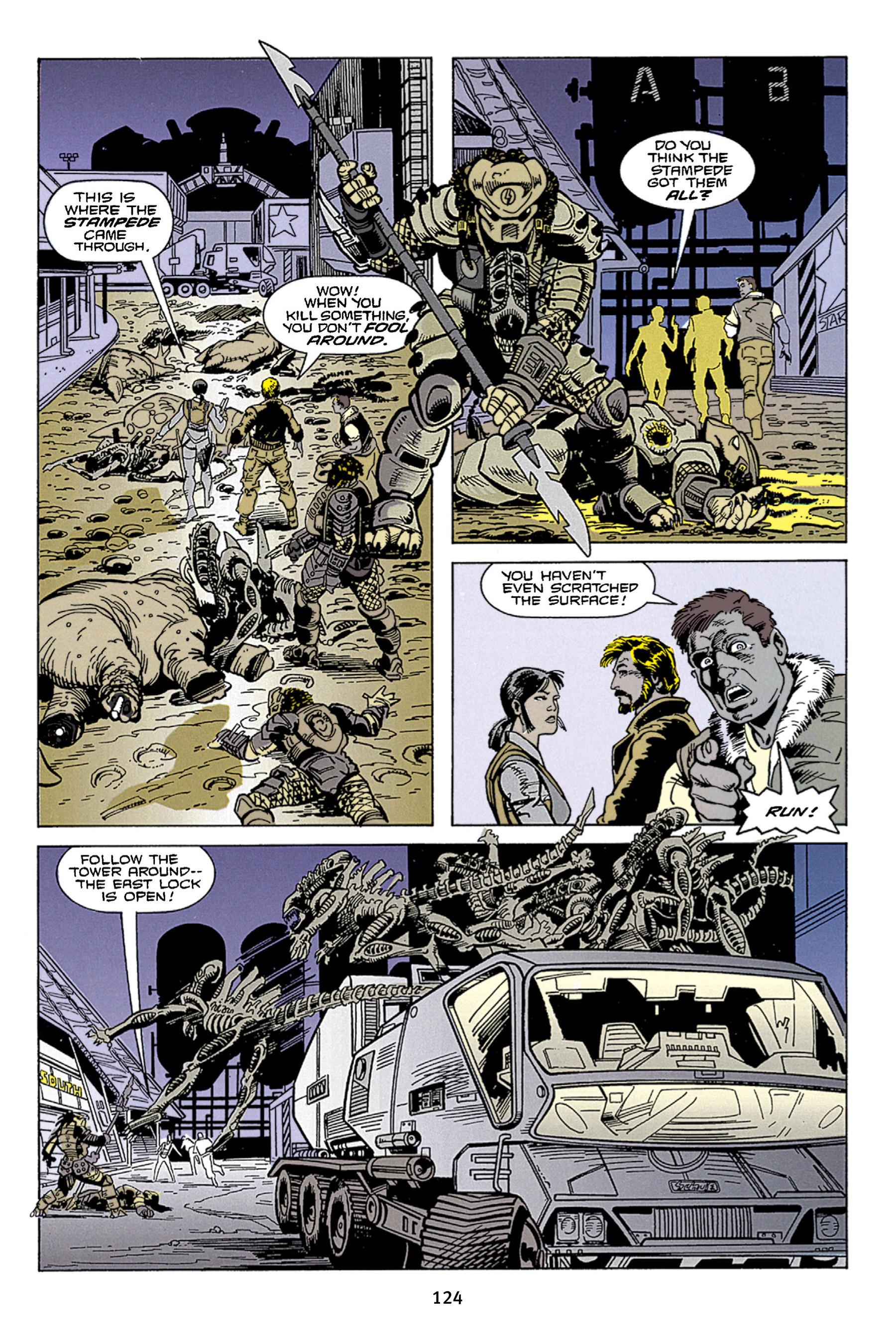 Read online Aliens vs. Predator Omnibus comic -  Issue # _TPB 1 Part 2 - 23