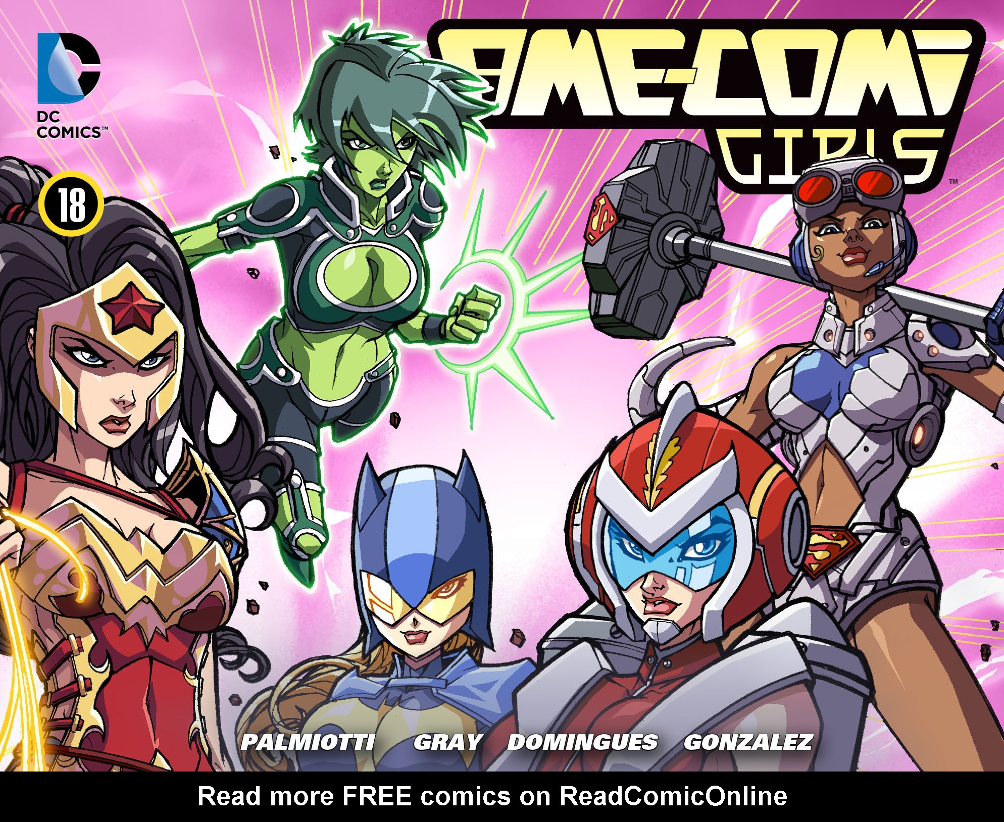 Read online Ame-Comi Girls comic -  Issue #18 - 1