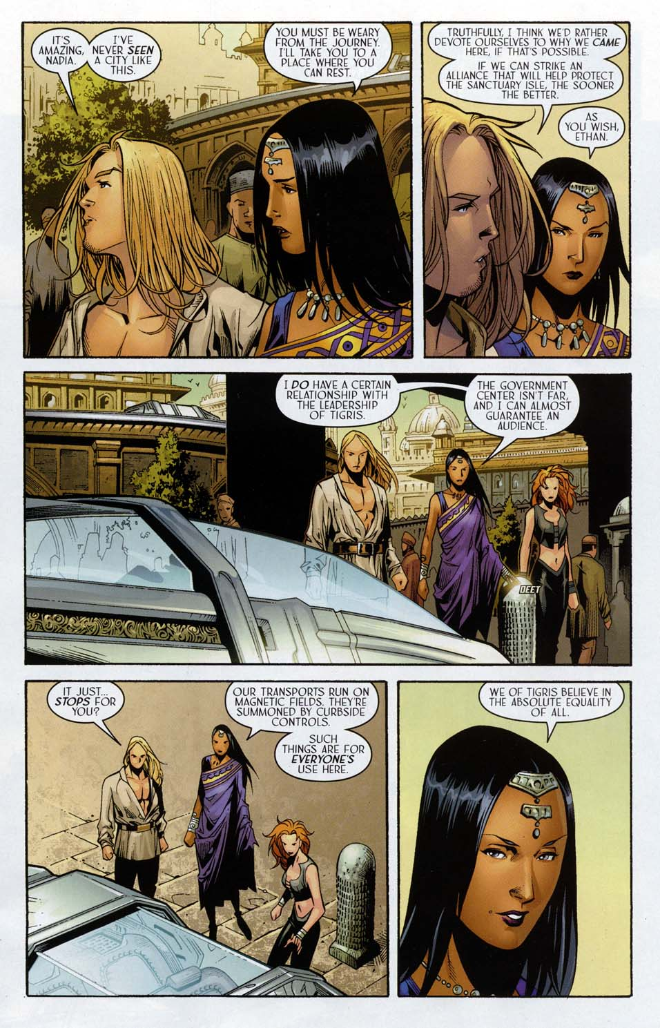 Read online Scion comic -  Issue #32 - 11