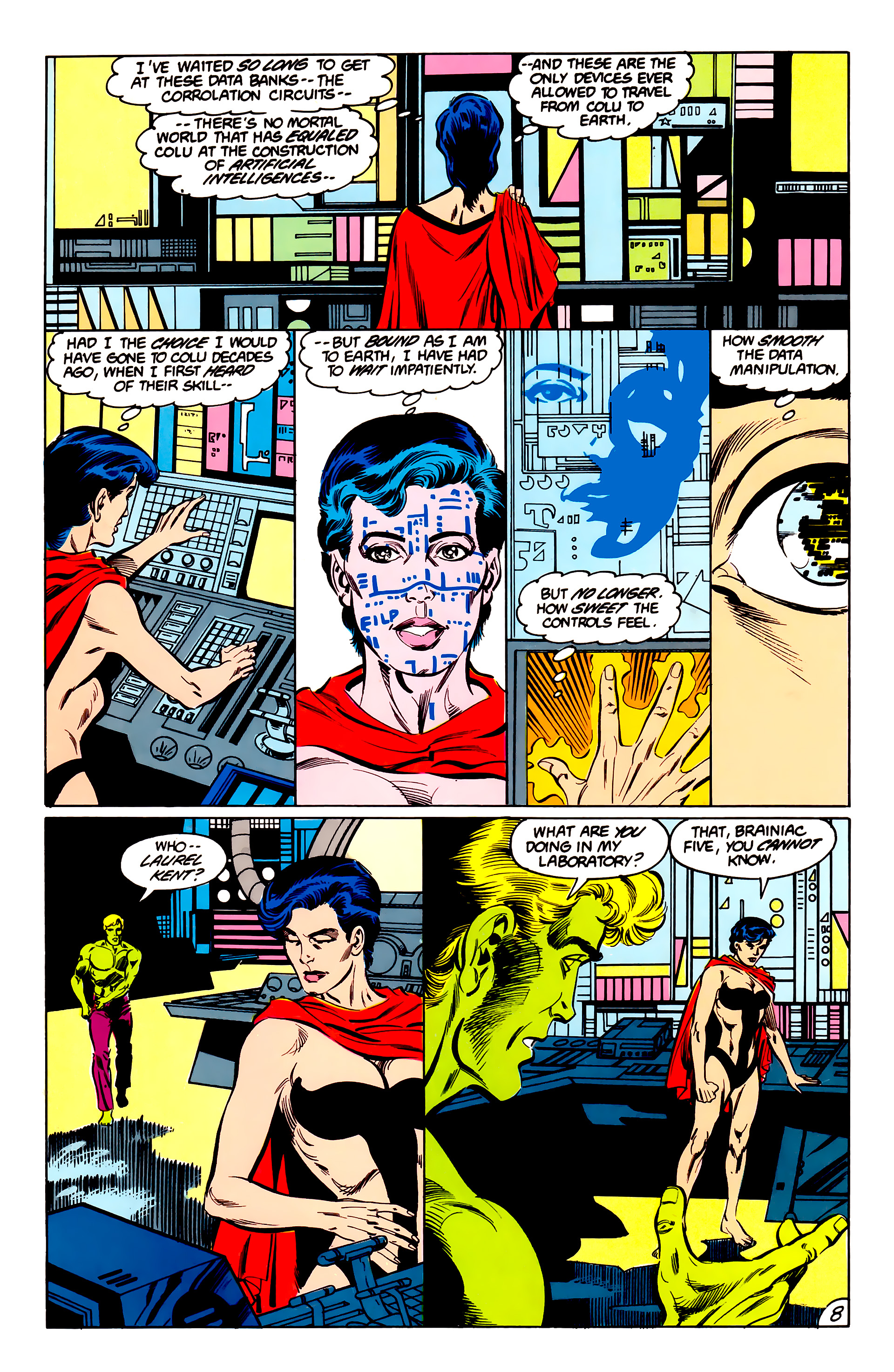 Legion of Super-Heroes (1984) 42 Page 8