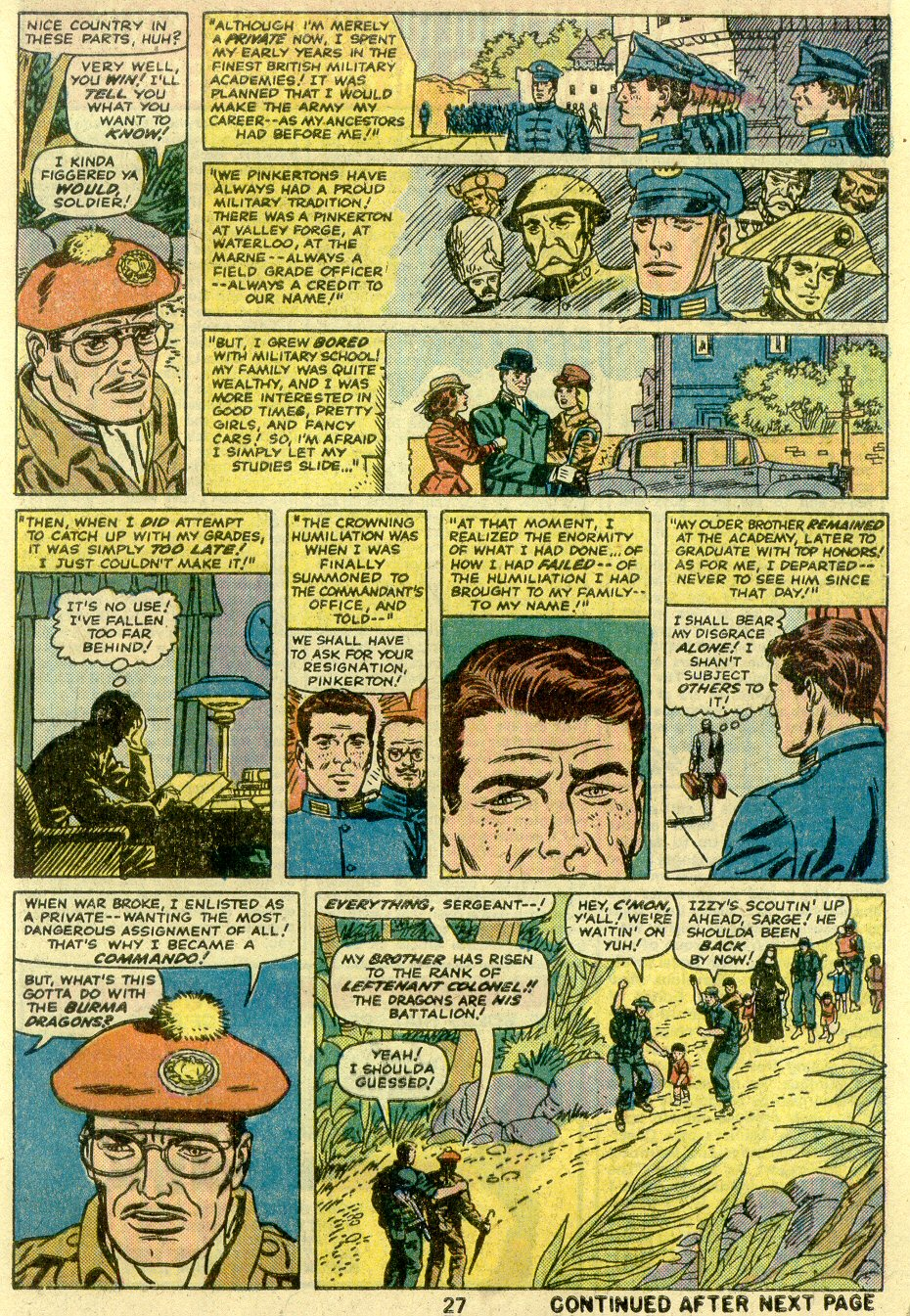 Read online Sgt. Fury comic -  Issue #125 - 29