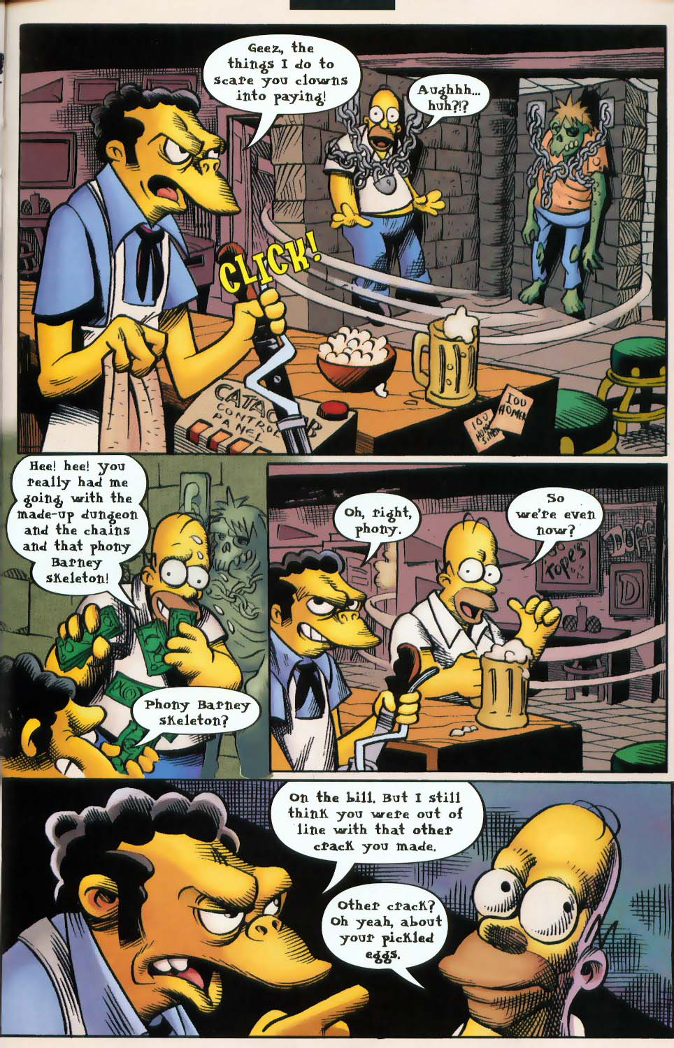 Read online Treehouse of Horror comic -  Issue #9 - 31