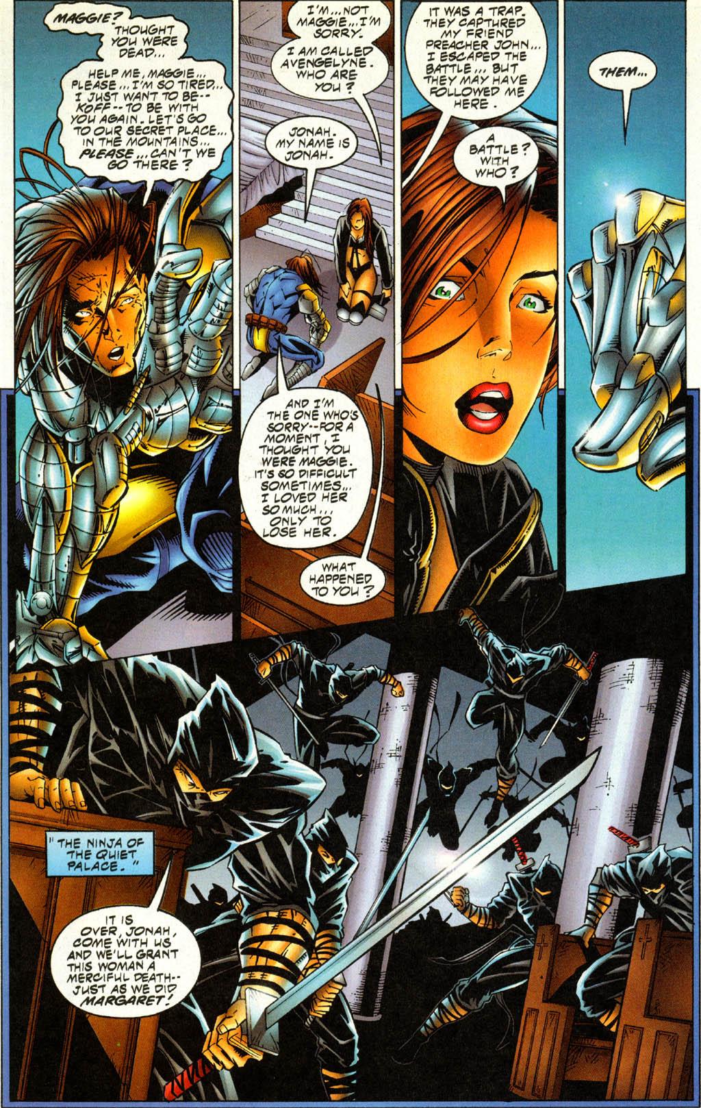 Read online Avengelyne (1996) comic -  Issue #4 - 9