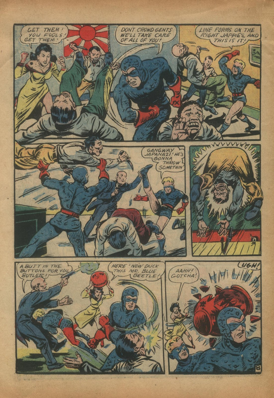 The Blue Beetle issue 15 - Page 10