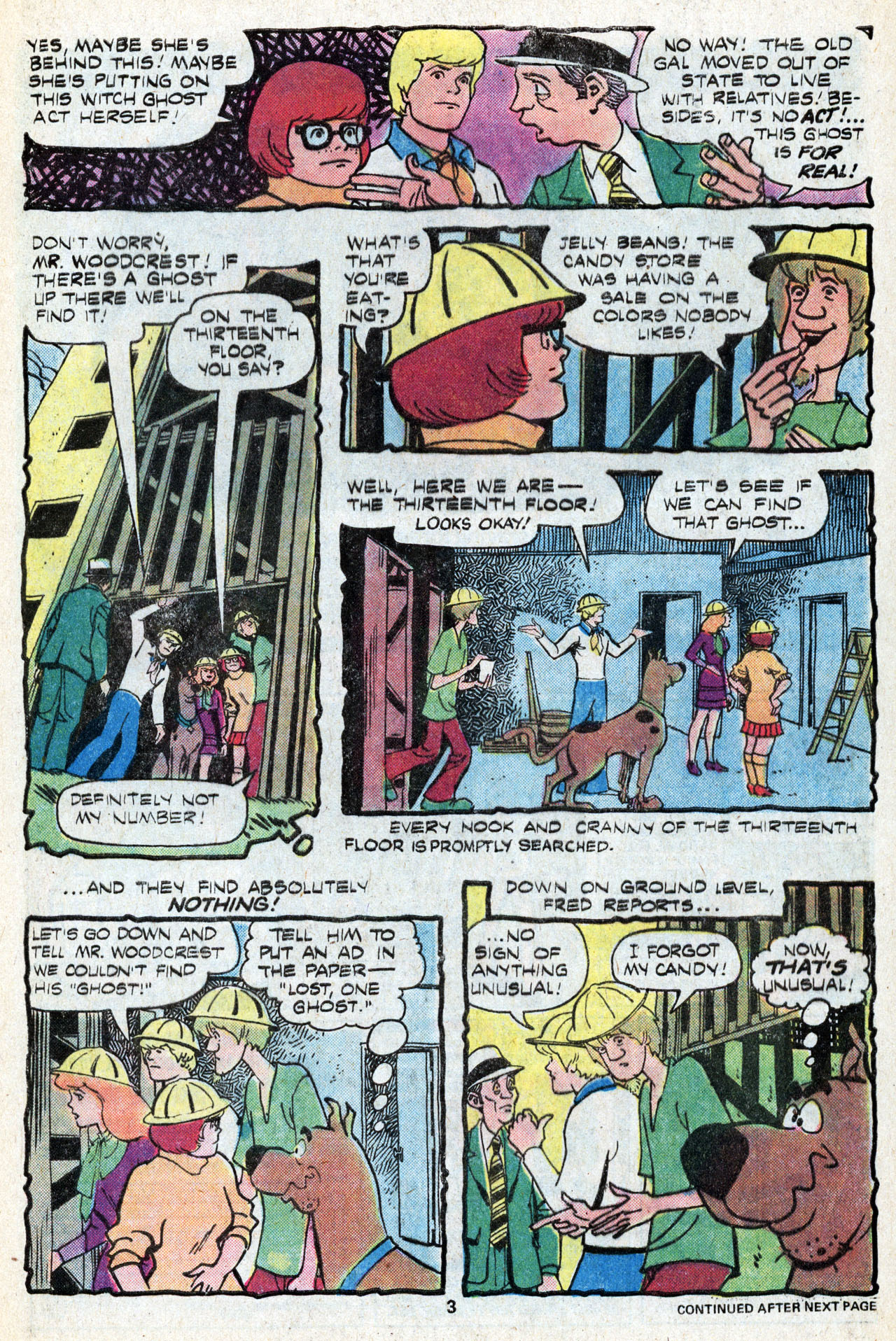 Read online Scooby-Doo (1977) comic -  Issue #5 - 5