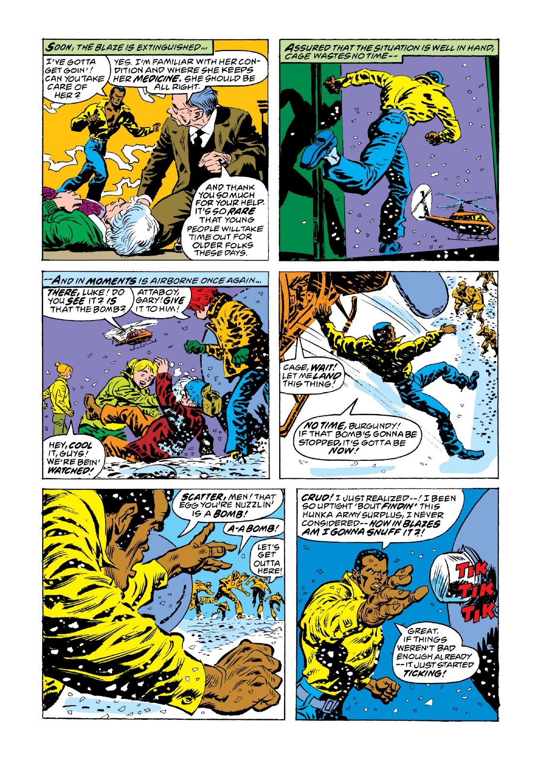 Read online Marvel Masterworks: Luke Cage, Power Man comic -  Issue # TPB 3 (Part 3) - 97