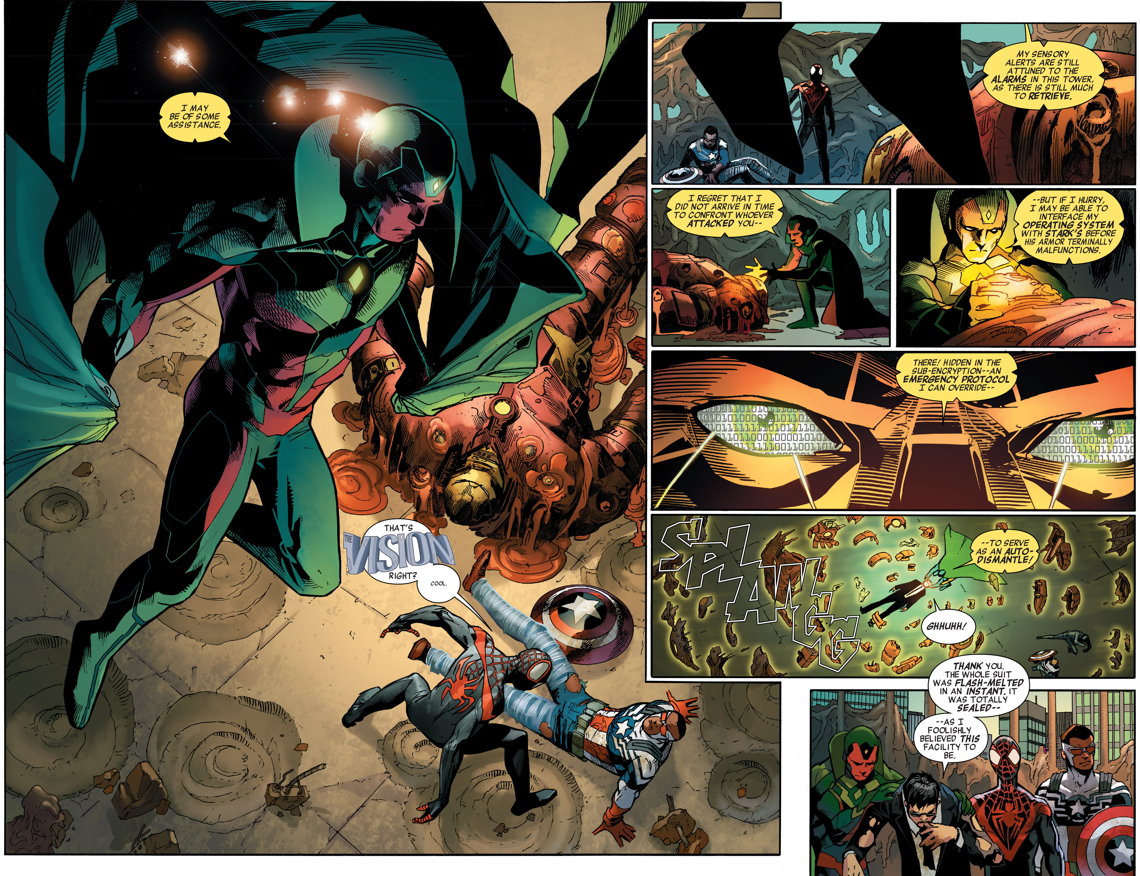 Read online All-New, All-Different Avengers comic -  Issue #2 - 4