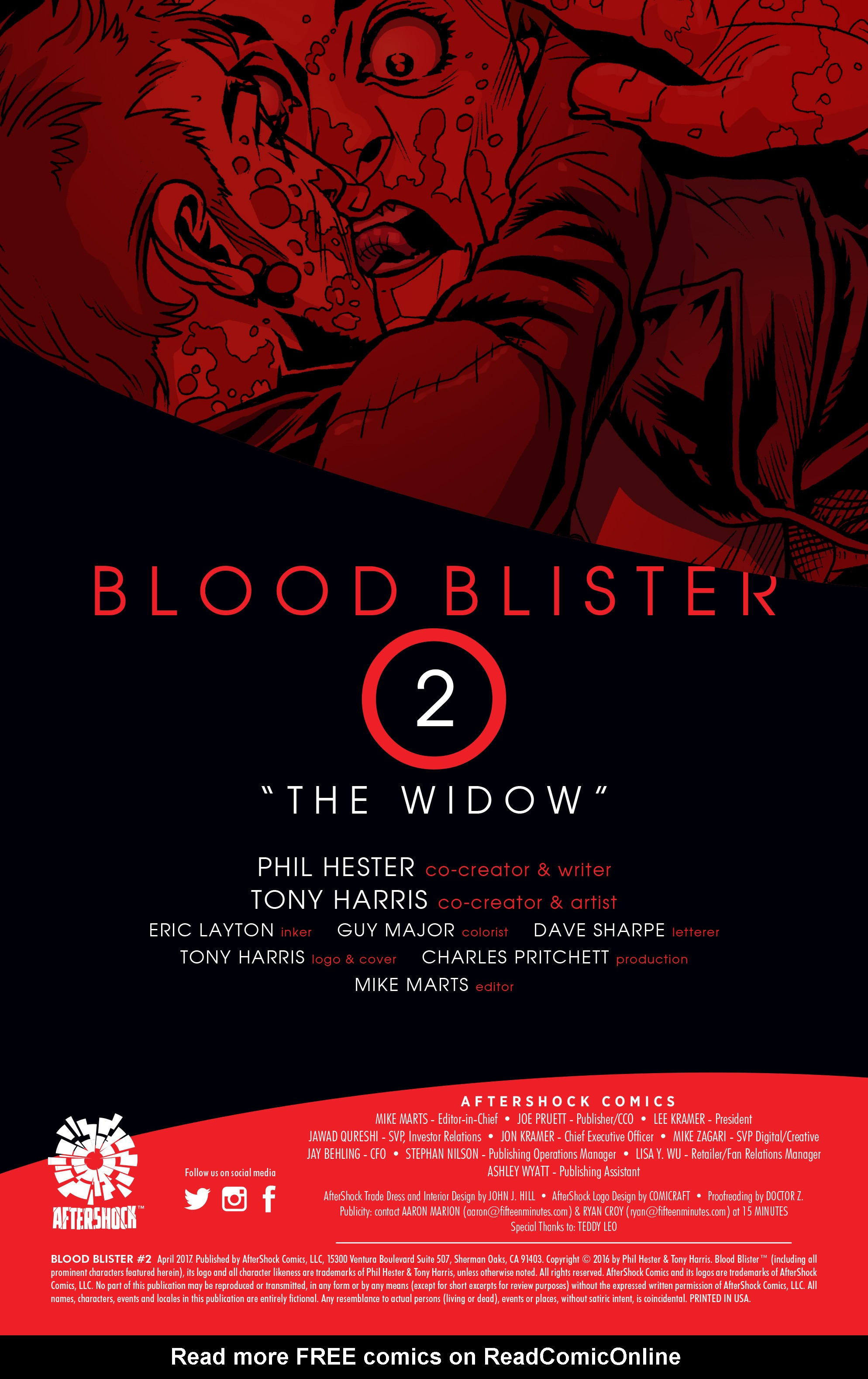 Read online Blood Blister comic -  Issue #2 - 2