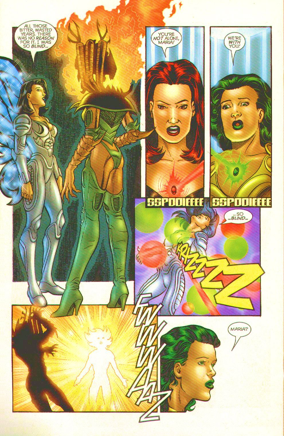 Read online Trinity Angels comic -  Issue #12 - 20