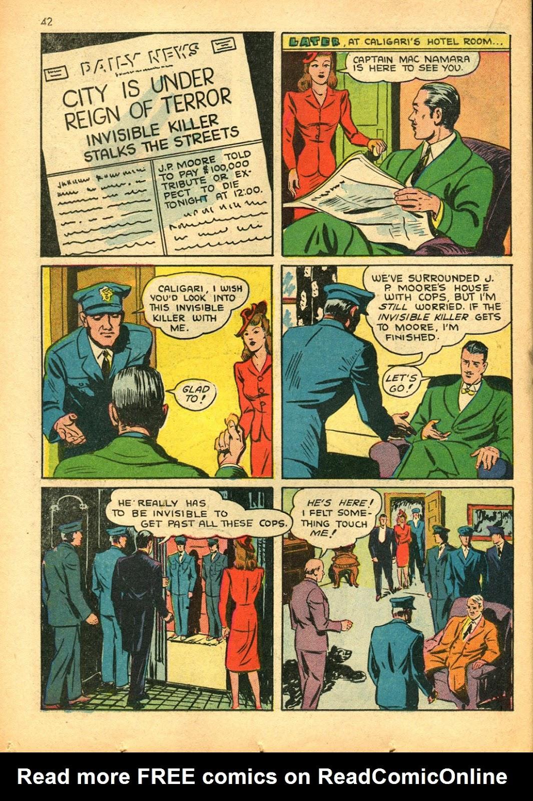Read online Super-Magician Comics comic -  Issue #15 - 41
