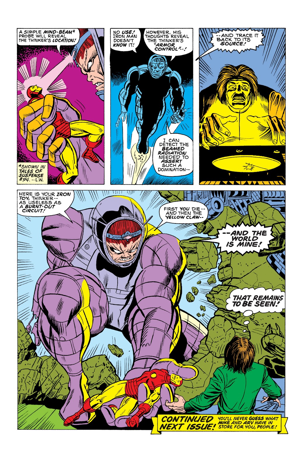Read online Marvel Masterworks: The Invincible Iron Man comic -  Issue # TPB 10 (Part 2) - 35