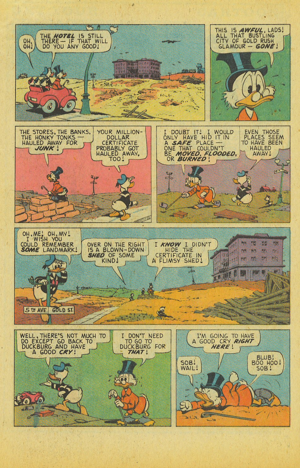 Read online Uncle Scrooge (1953) comic -  Issue #122 - 5