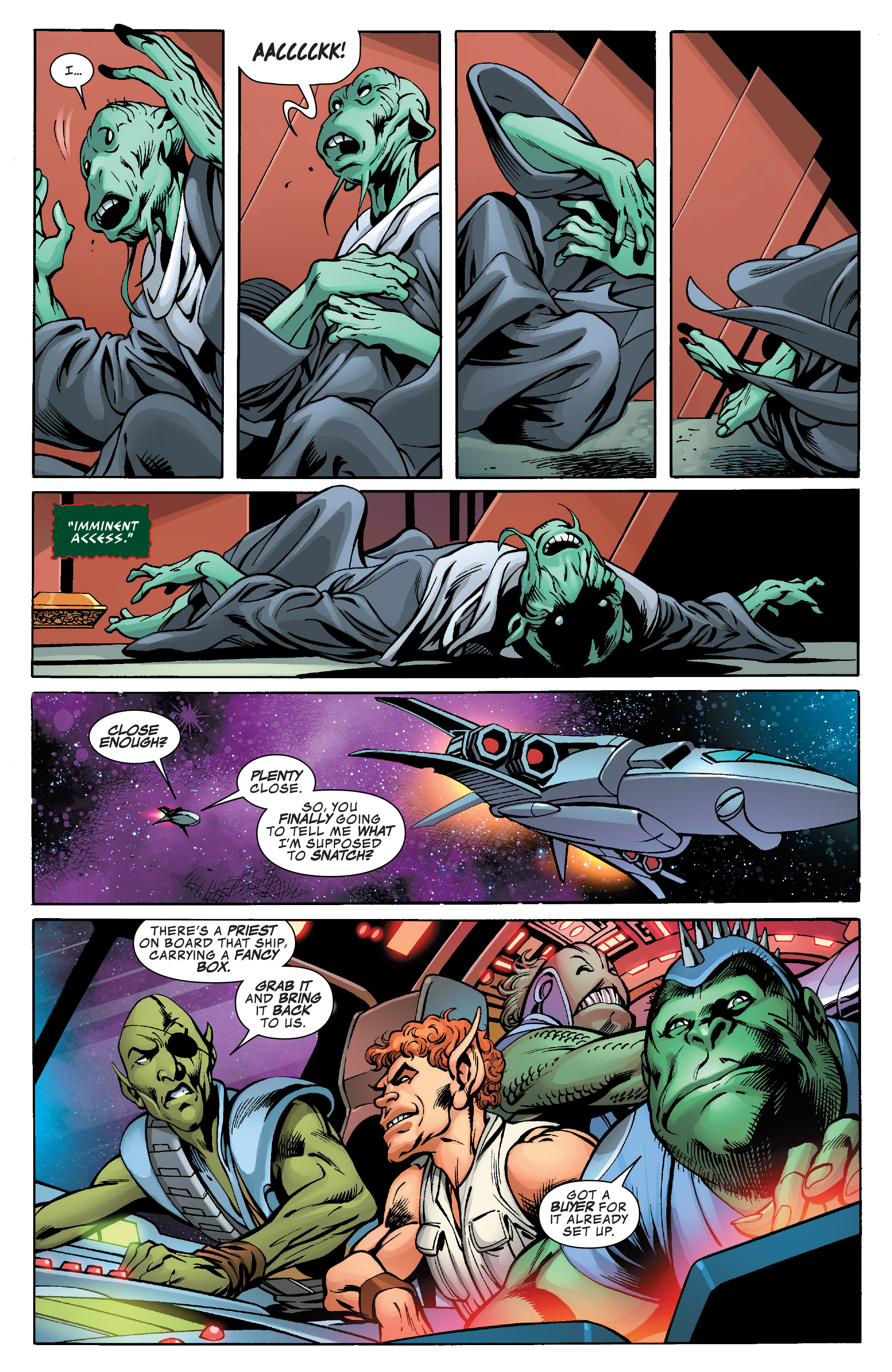 Read online Guardians of the Galaxy: Mother Entropy comic -  Issue #1 - 18