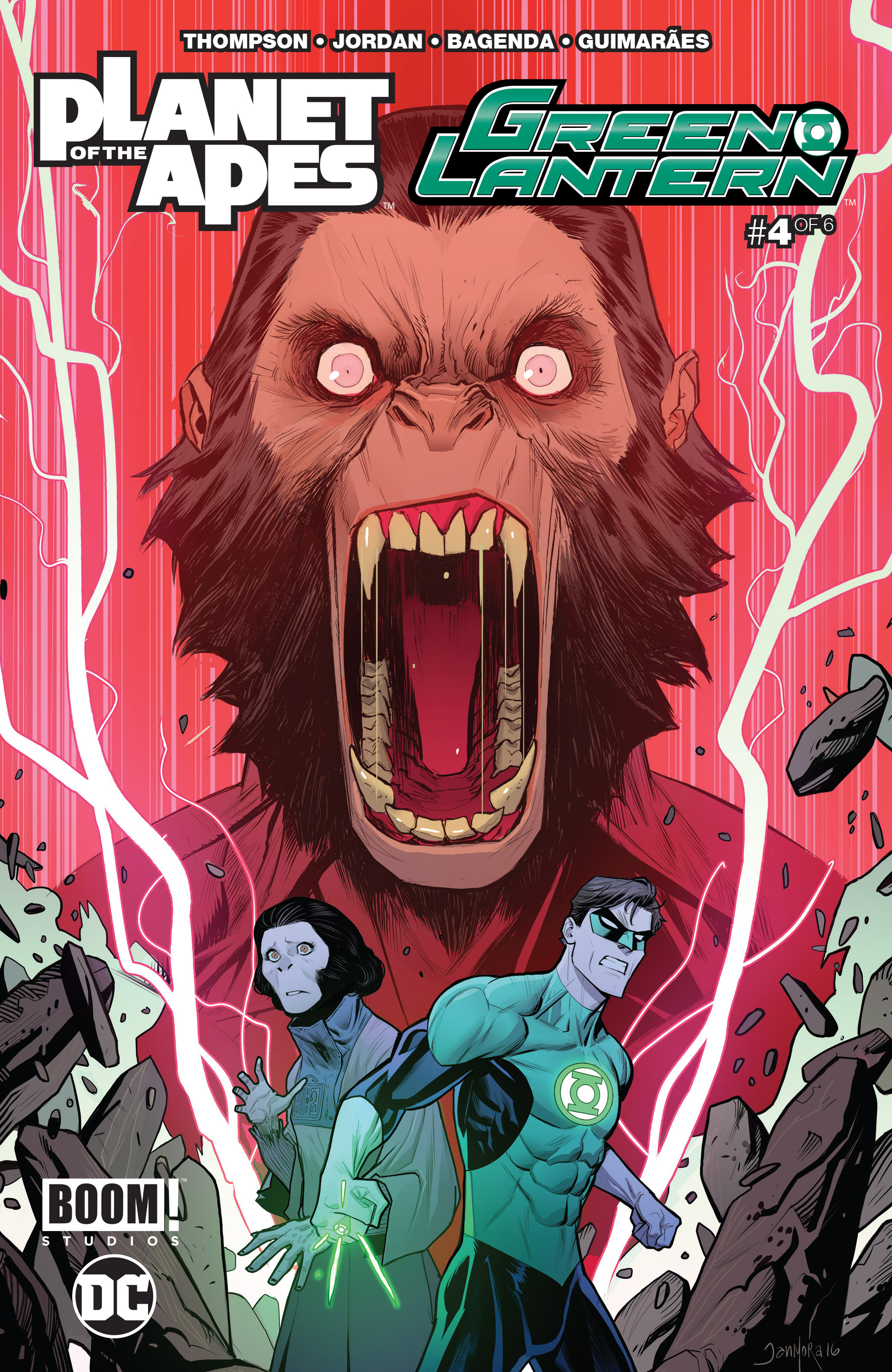 Planet of the Apes/Green Lantern 4 Page 1