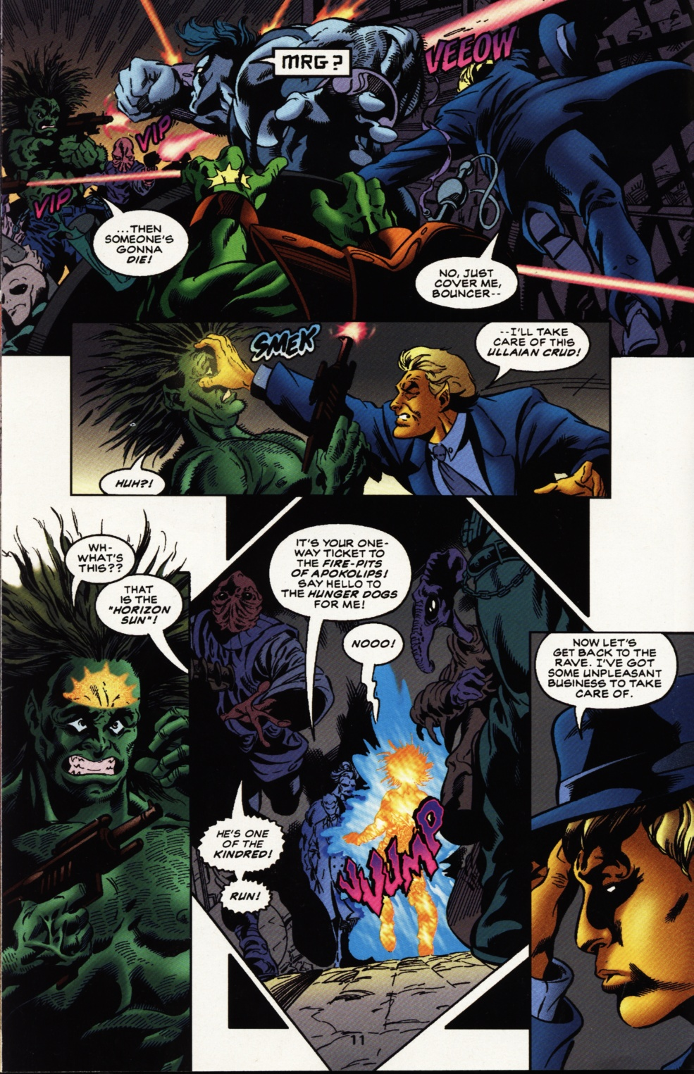 Read online Superboy & The Ravers comic -  Issue #11 - 12