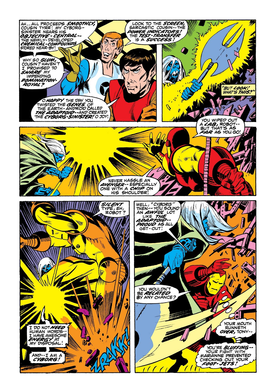 Read online Marvel Masterworks: The Invincible Iron Man comic -  Issue # TPB 8 (Part 3) - 64