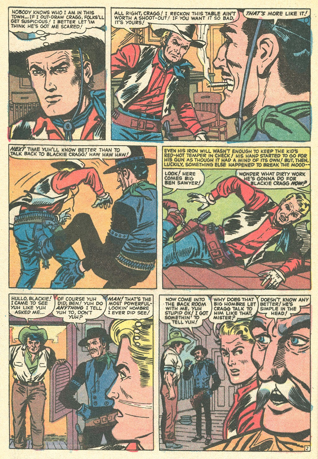 Kid Colt Outlaw issue 151 - Page 4