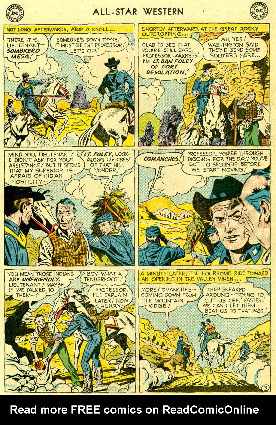 Read online All-Star Western (1951) comic -  Issue #83 - 21