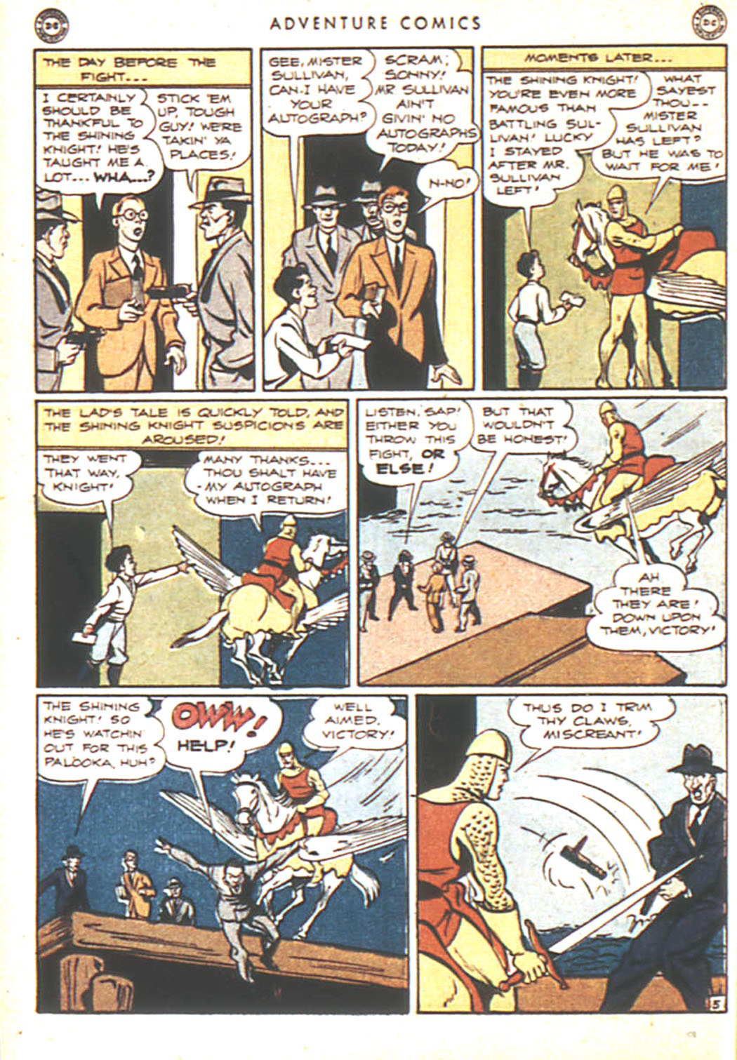 Read online Adventure Comics (1938) comic -  Issue #92 - 22