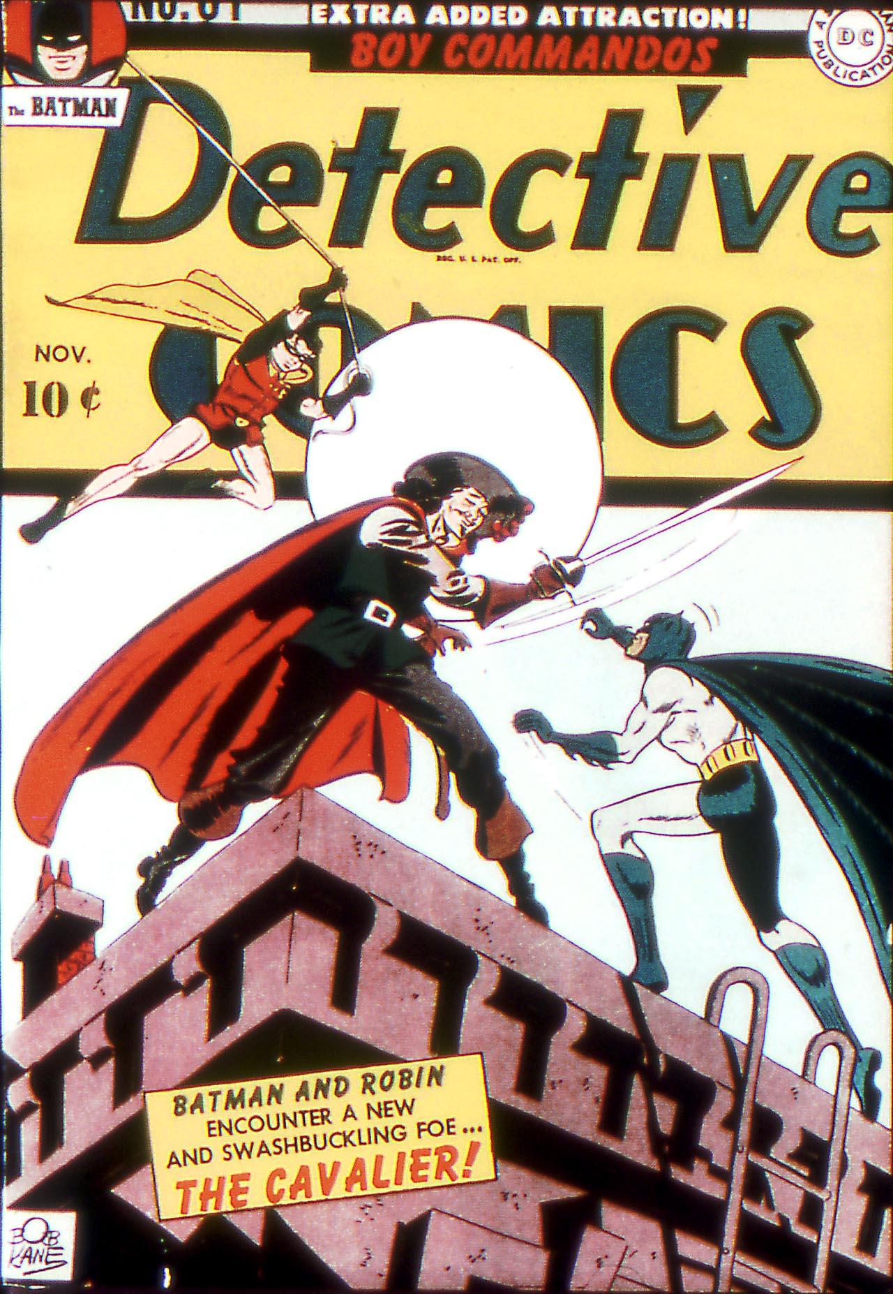 Read online Detective Comics (1937) comic -  Issue #81 - 1