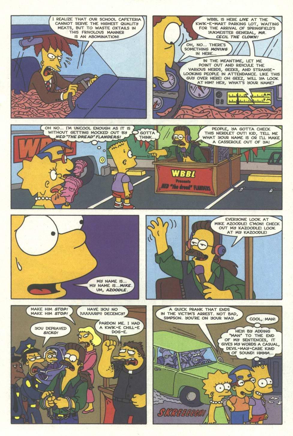 Read online Simpsons Comics comic -  Issue #33 - 20
