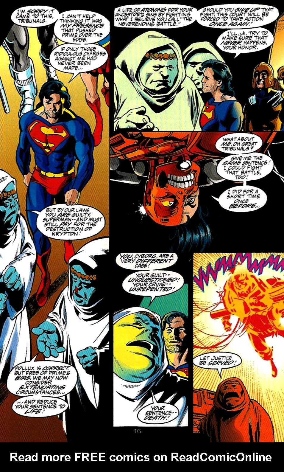 Read online Adventures of Superman (1987) comic -  Issue #531 - 17