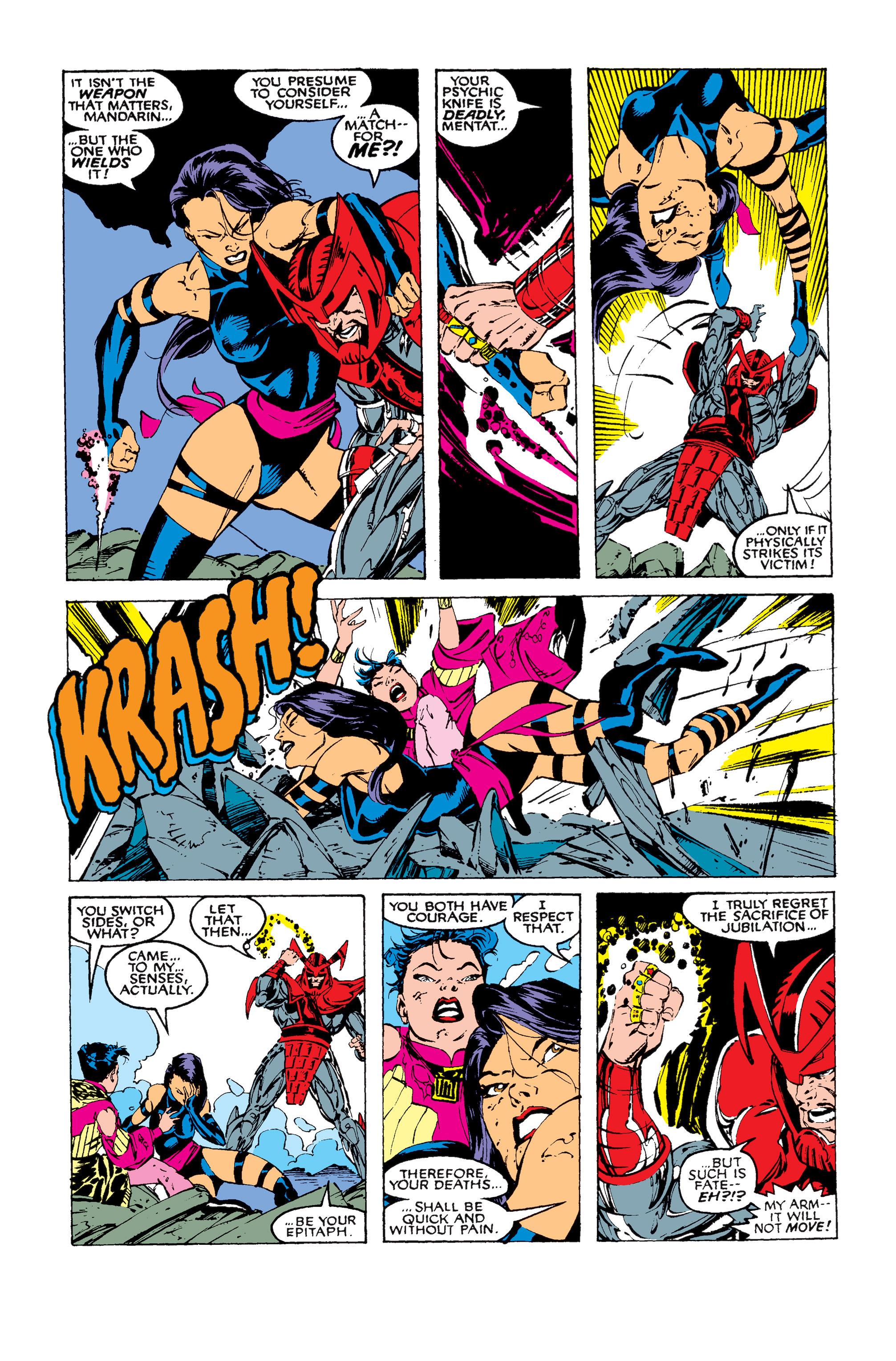 Read online Uncanny X-Men (1963) comic -  Issue #258 - 22