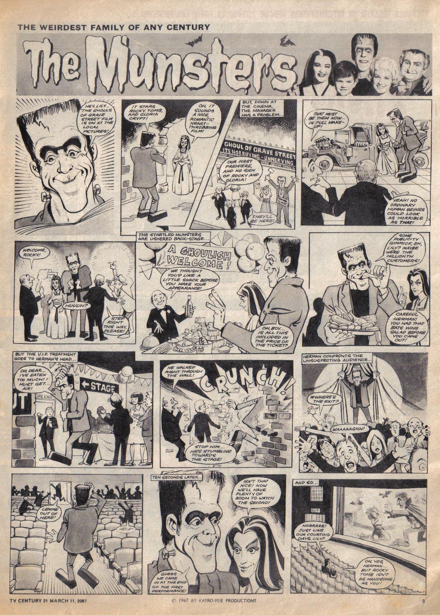 Read online TV Century 21 (TV 21) comic -  Issue #112 - 9