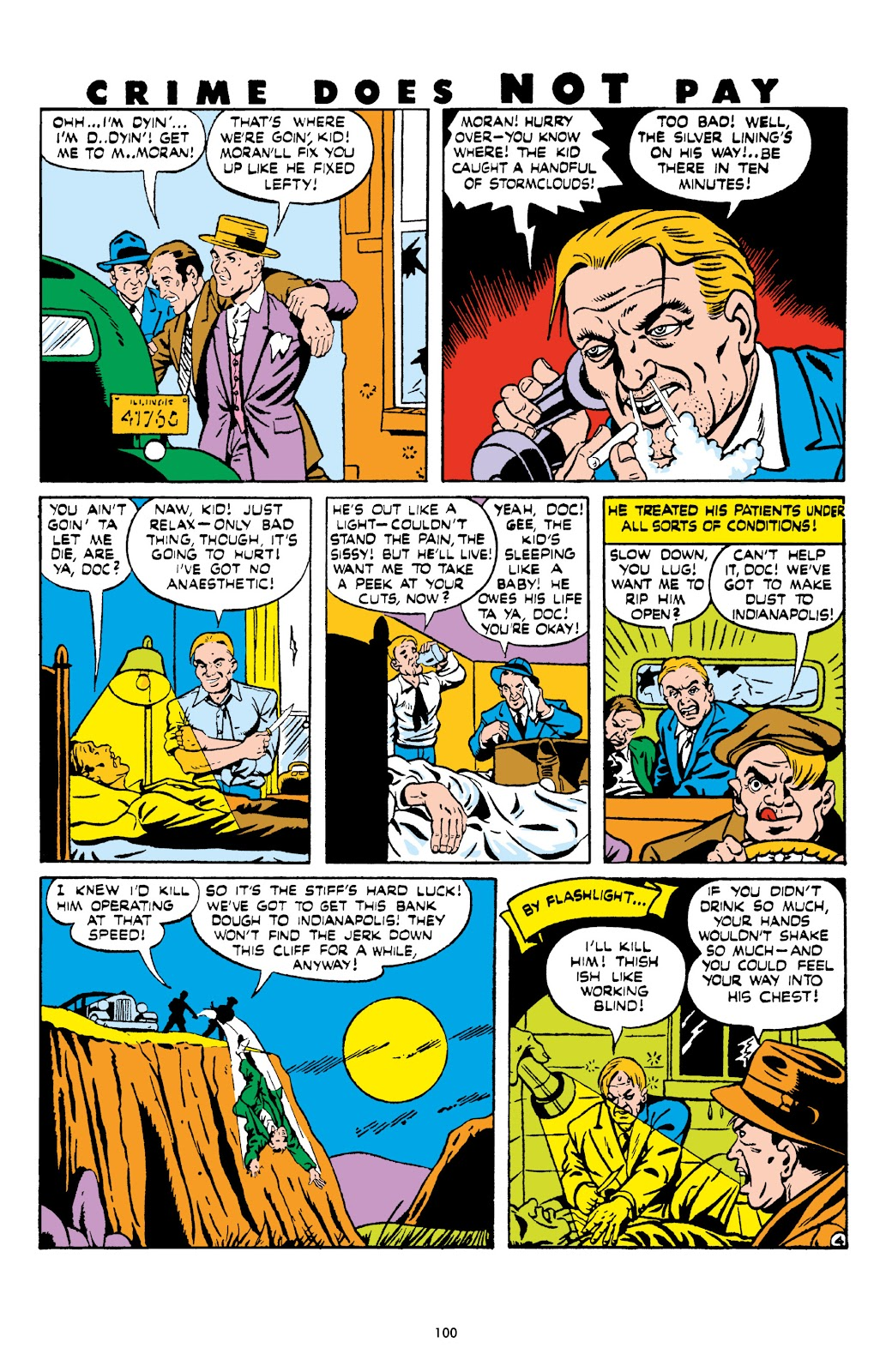 Read online Crime Does Not Pay Archives comic -  Issue # TPB 6 (Part 2) - 2