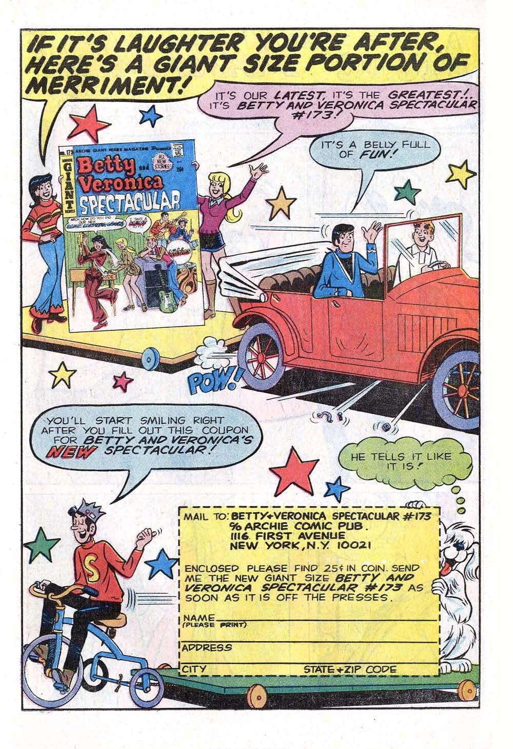 Read online Archie (1960) comic -  Issue #199 - 19