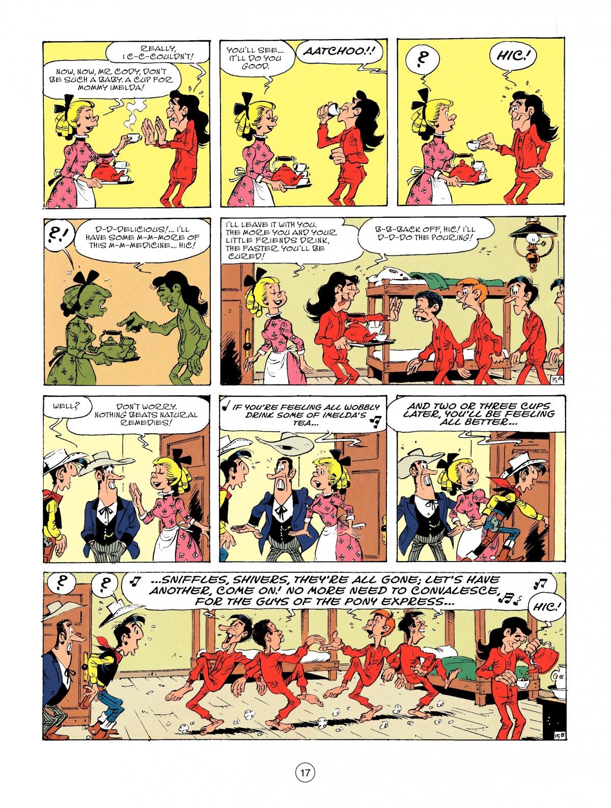 Read online A Lucky Luke Adventure comic -  Issue #46 - 17