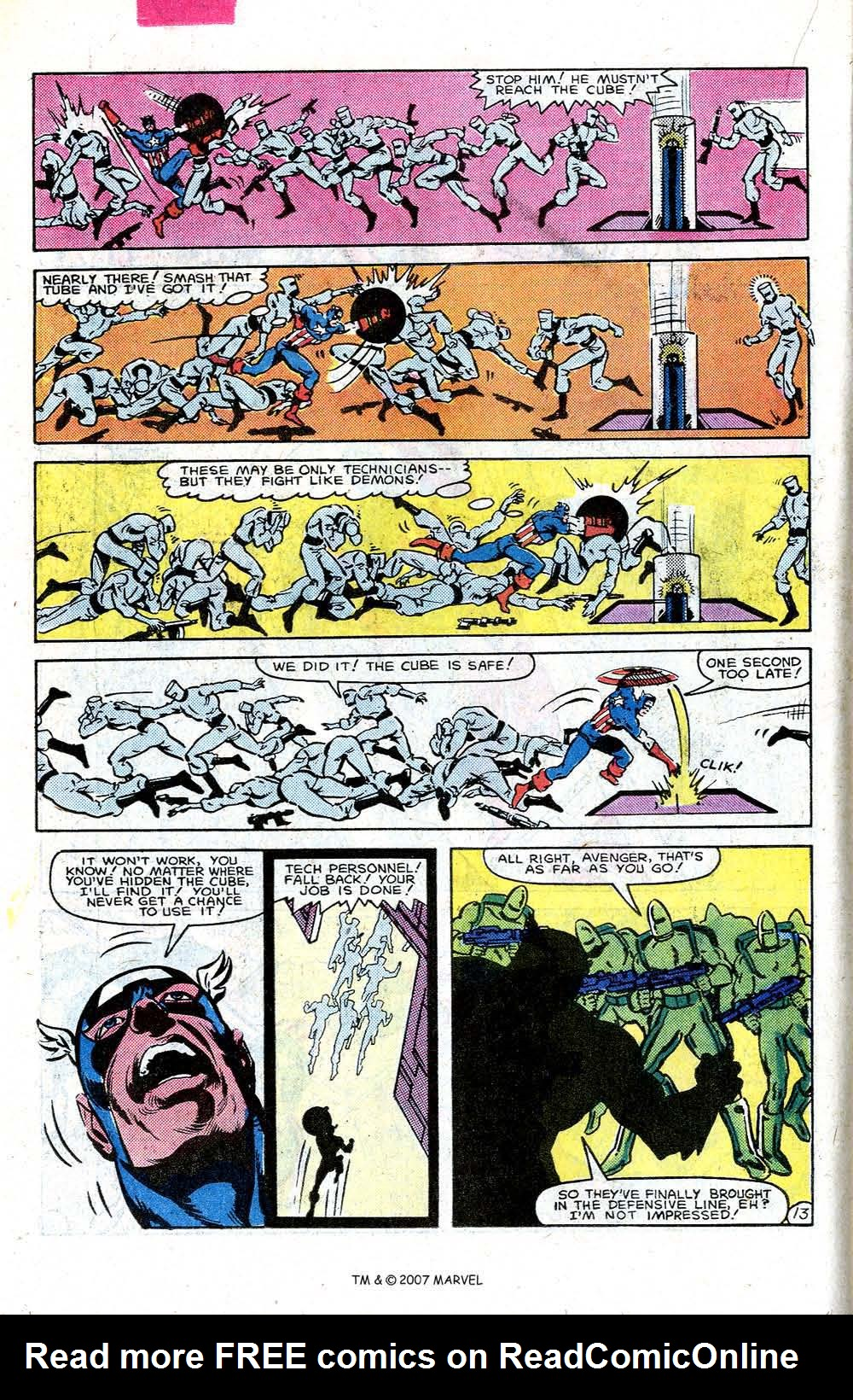 Read online Captain America (1968) comic -  Issue # _Annual 7 - 18