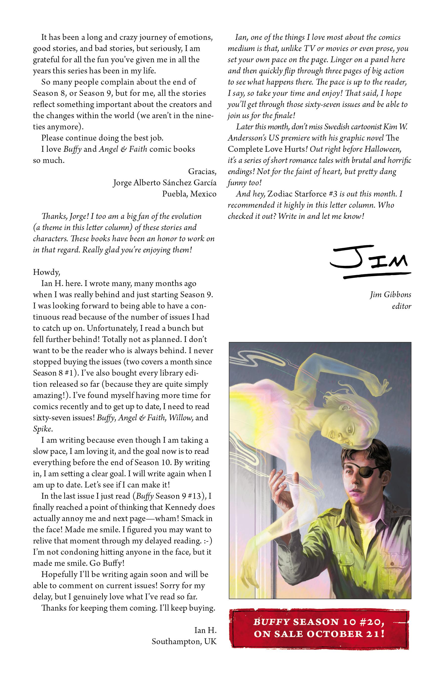 Read online Angel & Faith Season 10 comic -  Issue #19 - 26