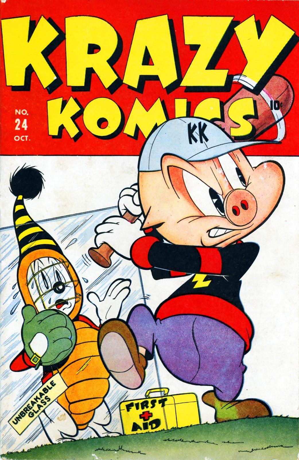 Krazy Komics issue 24 - Page 1