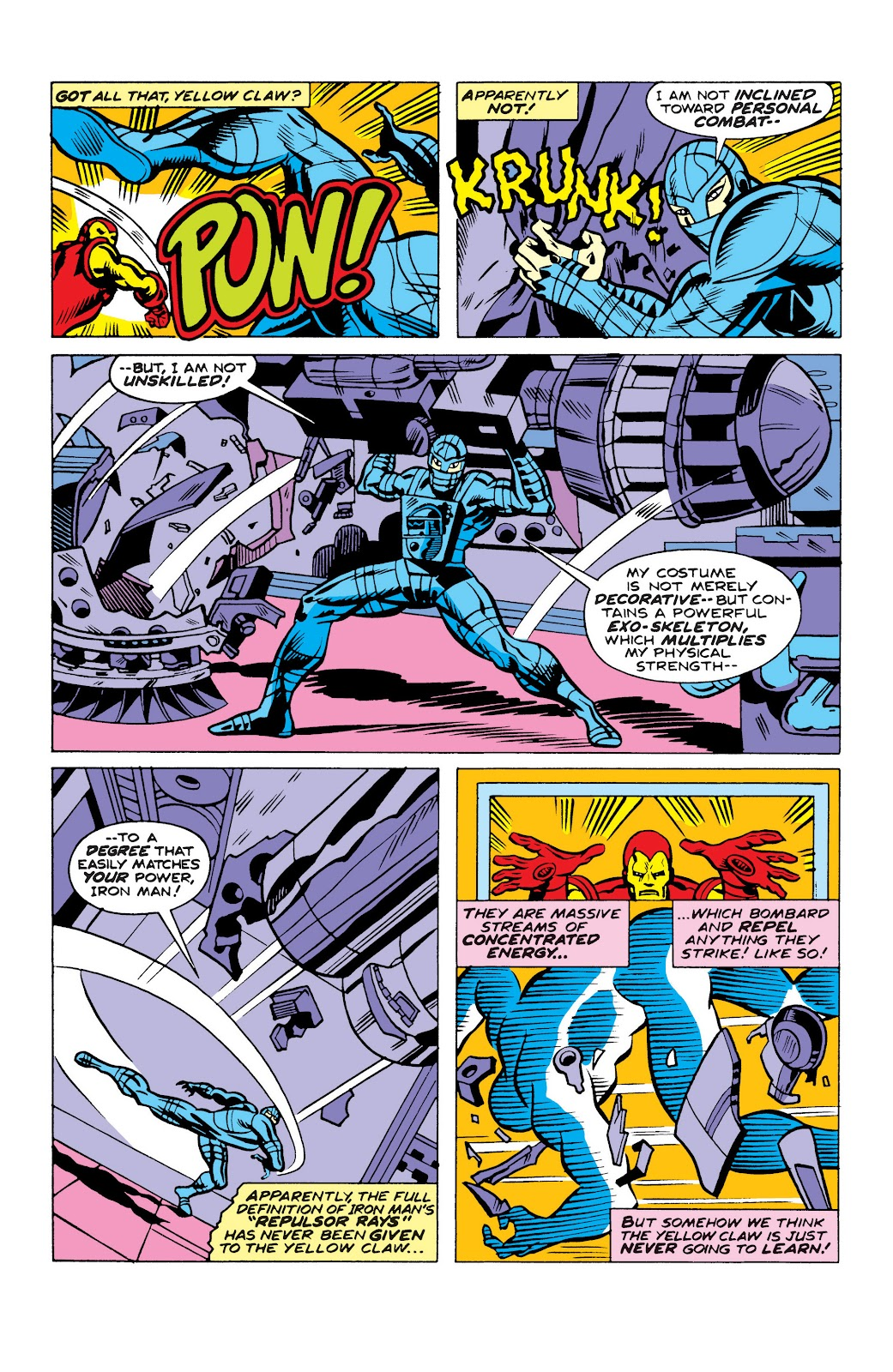 Read online Marvel Masterworks: The Invincible Iron Man comic -  Issue # TPB 10 (Part 2) - 66