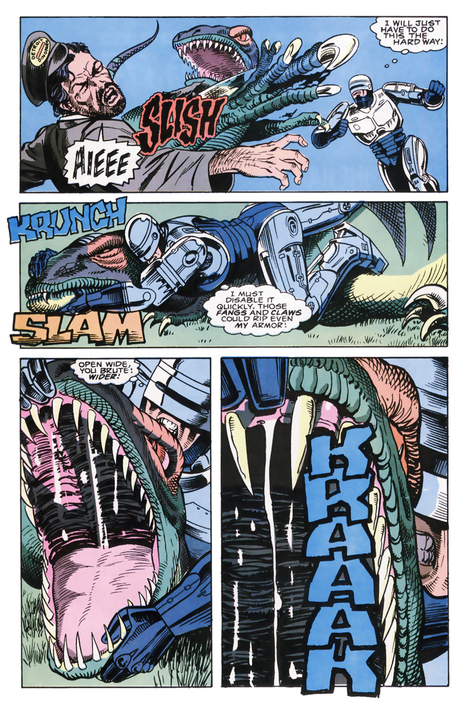 Read online Robocop (1990) comic -  Issue #7 - 5