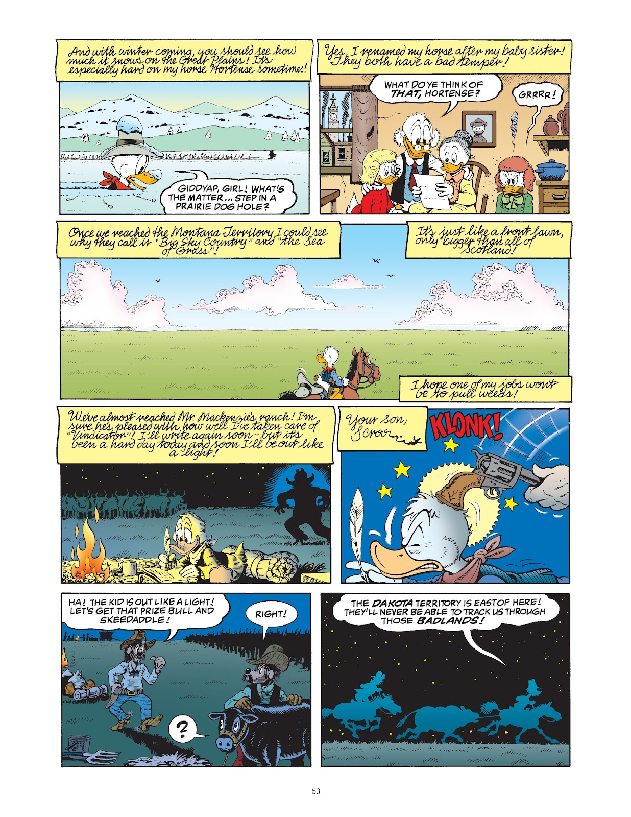 Read online The Complete Life and Times of Scrooge McDuck comic -  Issue # TPB 1 (Part 1) - 58