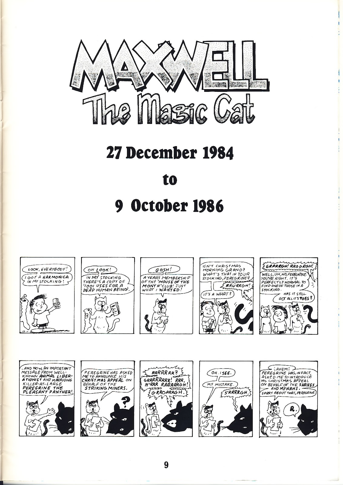 Read online Alan Moore's Maxwell the Magic Cat comic -  Issue #4 - 11