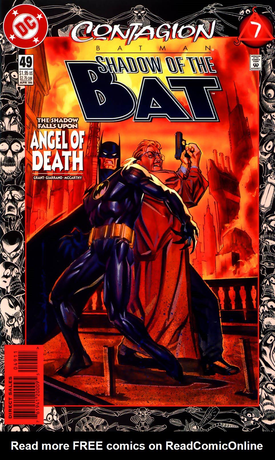 Batman: Contagion 7 Page 1