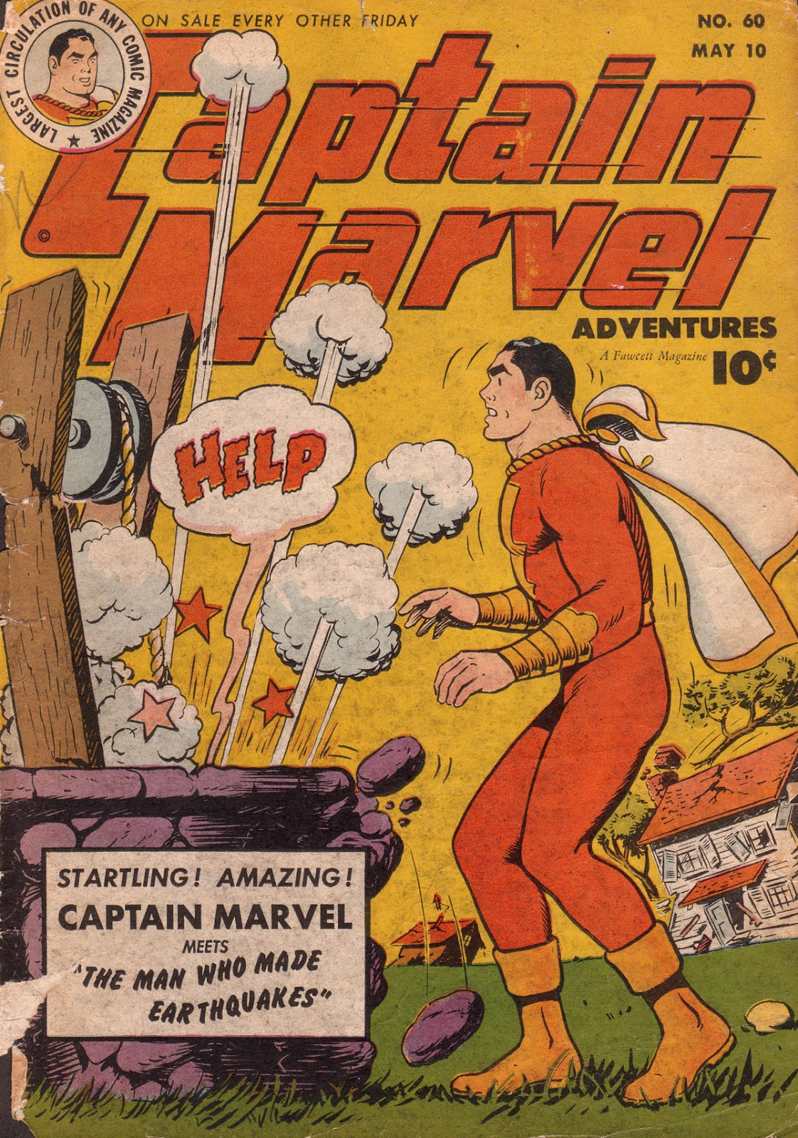 Captain Marvel Adventures issue 60 - Page 1
