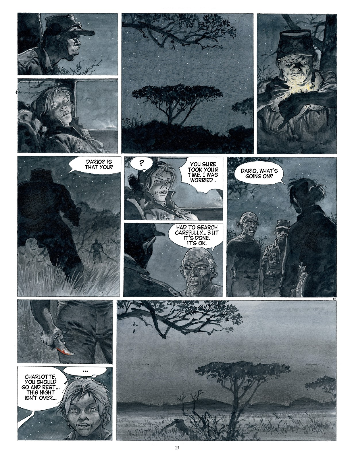 Read online Afrika comic -  Issue # TPB - 23