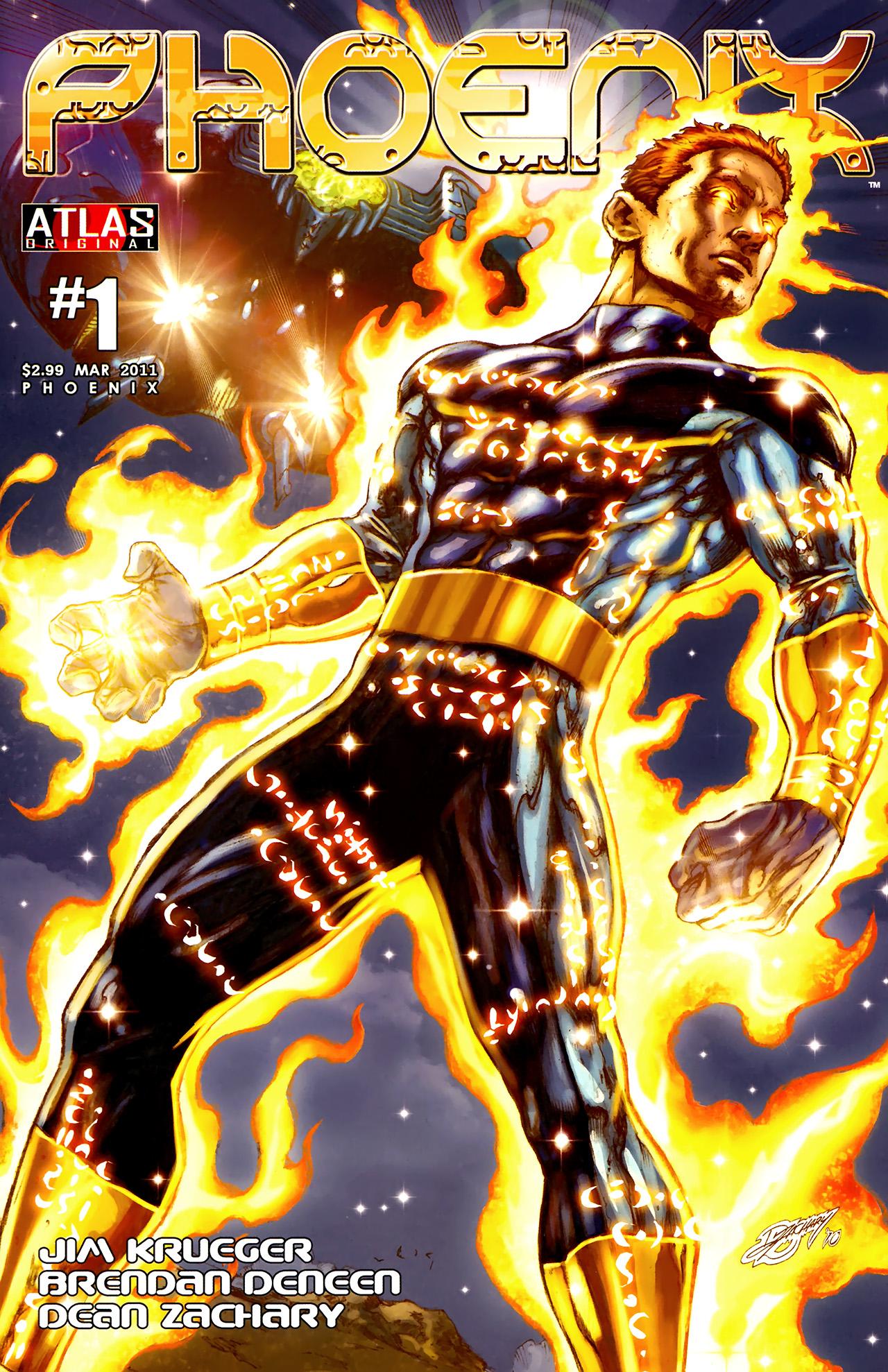 Read online Phoenix comic -  Issue #1 - 1