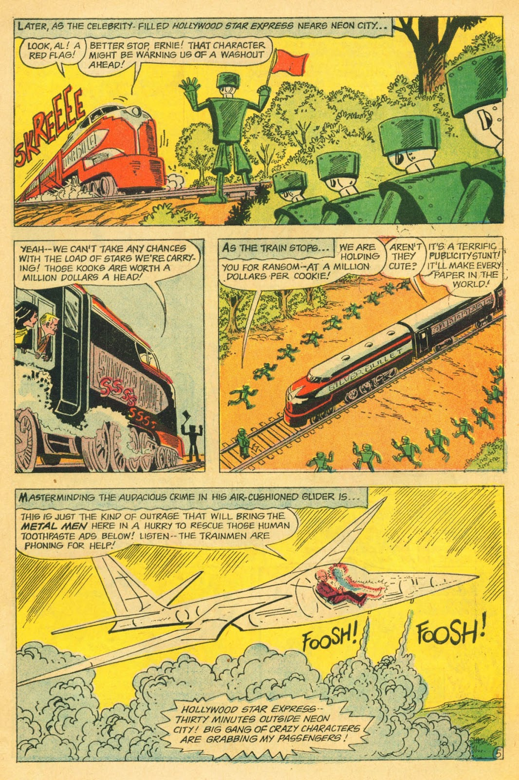 Metal Men (1963) issue 22 - Page 7